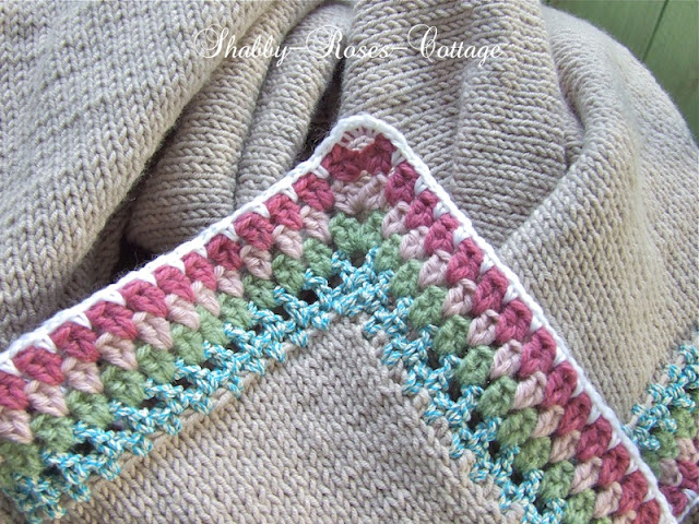CHIX – Crochet Borders for Knitted Projects