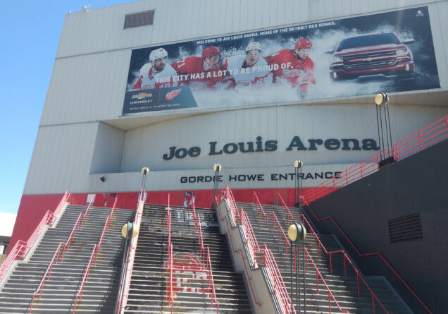 Joe Louis Arena Demolition