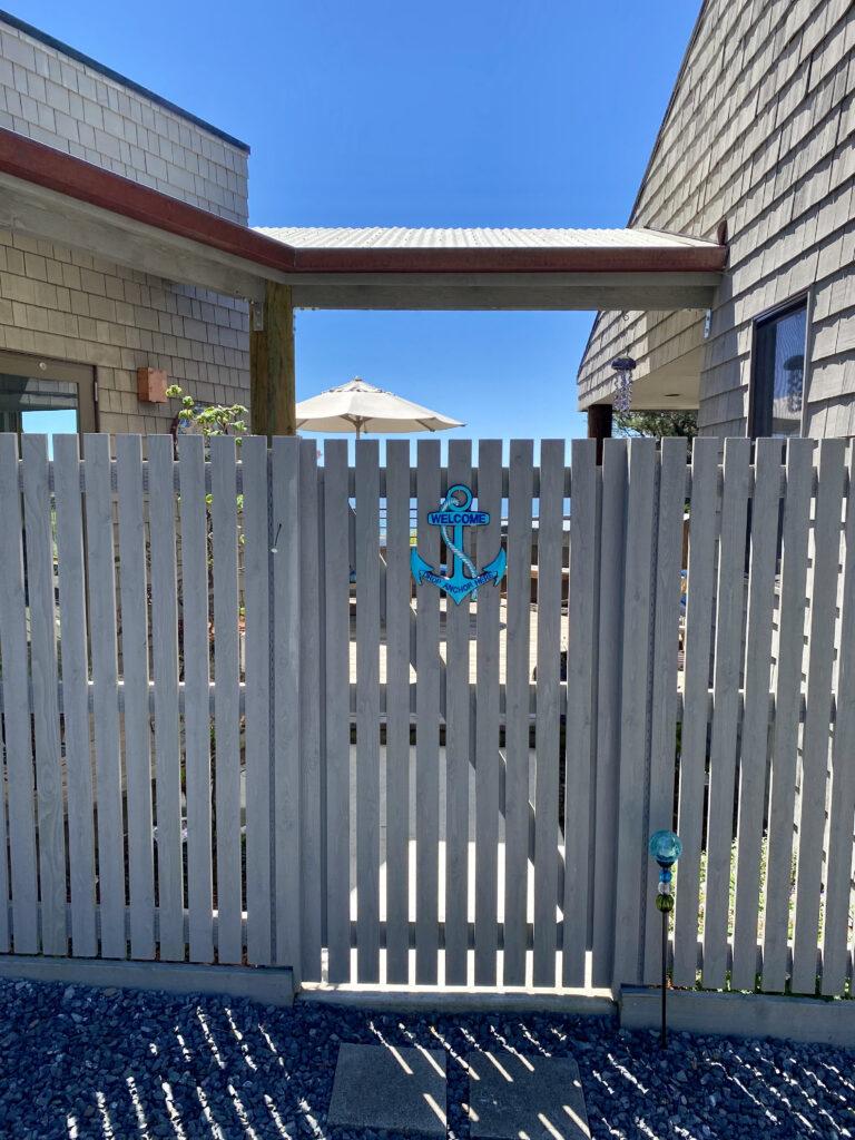 Deck entry Gate