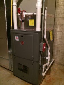 Here is another Rheem furnace install.