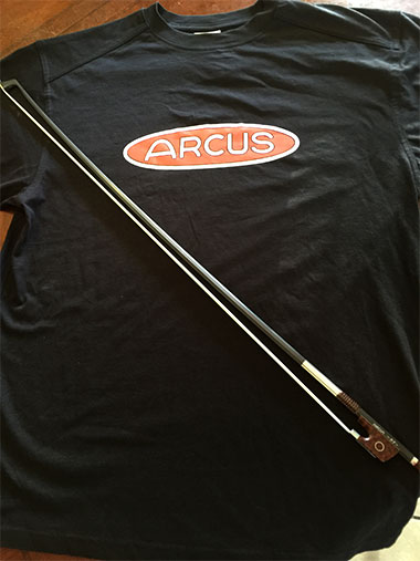 Arcus Viola Bow S7 and T-Shirt