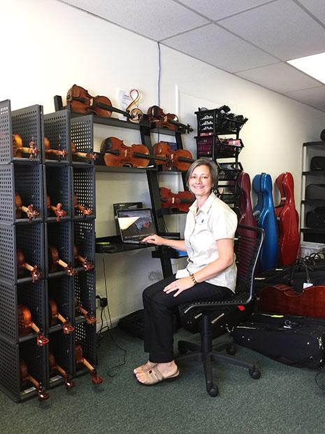 virginia barnes -biopic; violin teacher