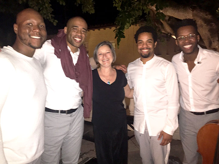 Virginia Barnes with Sons of Serendip
