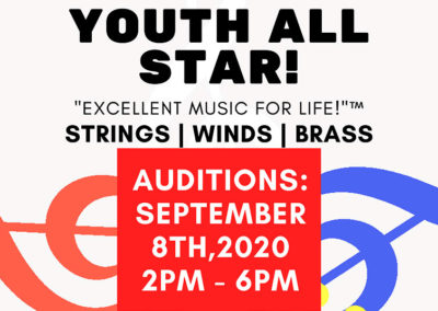 Youth All Star! Auditions September 2020