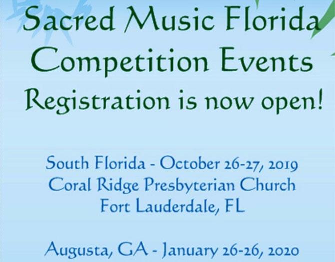 Sacred Music 2020 FLA. / GA.