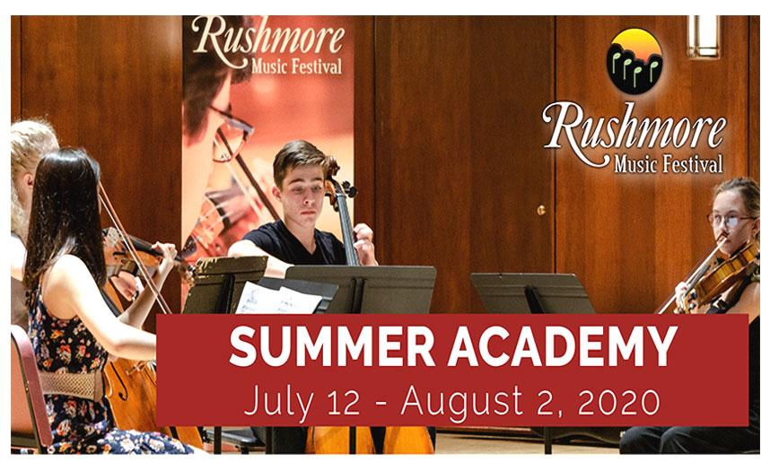 Rushmore Music Festival: Summer Academy 2020 Thumbnail