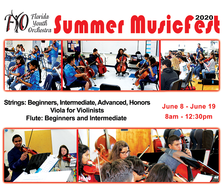 Florida Youth Orchestra Summer Music Fest 2020