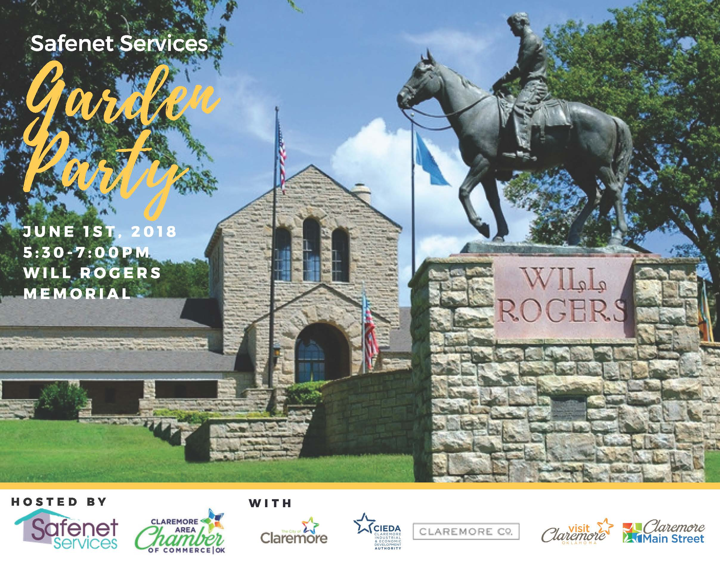 Garden Party, hosted by Claremore Area Chamber of Commerce