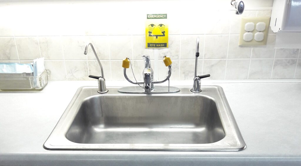 dental office water purifier spigot