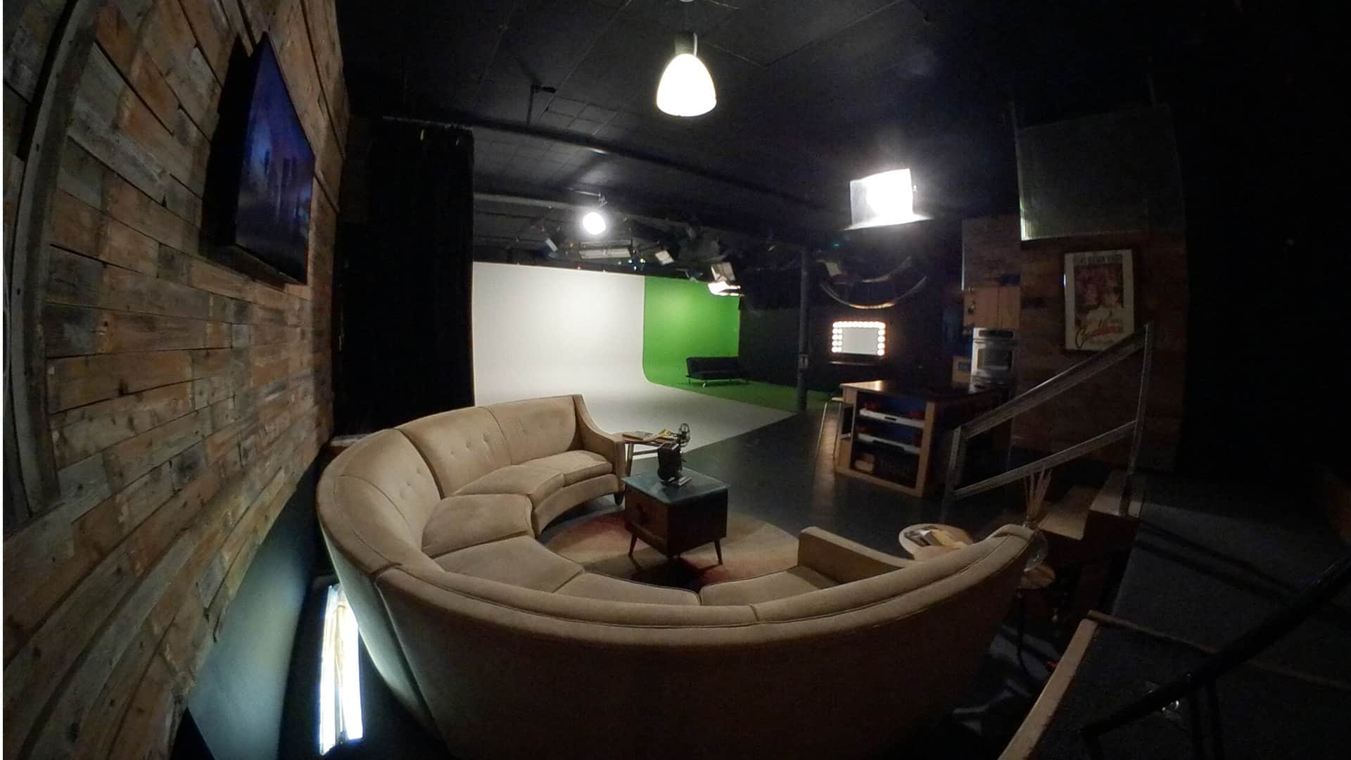 still of couch and cyclorama in sky theory