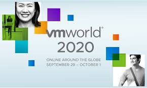 VMworld 2020 – ONLINE AROUND THE GLOBE SEPTEMBER 29 – OCTOBER 1