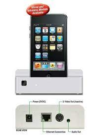 LEVITON 96A002 IPOD DOCK 4 TOUCH & IPHONE WIRED/ WIRELESS
