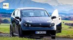SION, Electric & Solar Car - YouTube