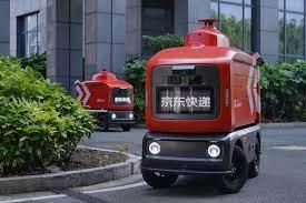 'JD' China Smart Delivery VAN