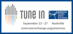2019 Emerson Global Users Exchange: Register Now!