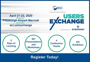 2020 ECI Users Exchange – Register Today!