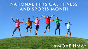PHS Celebrates National Physical Fitness Month!