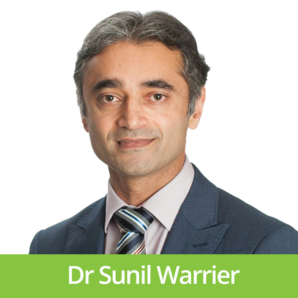 Dr Sunil Warrier