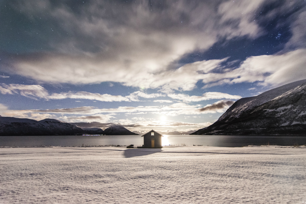 ice fishing in norway