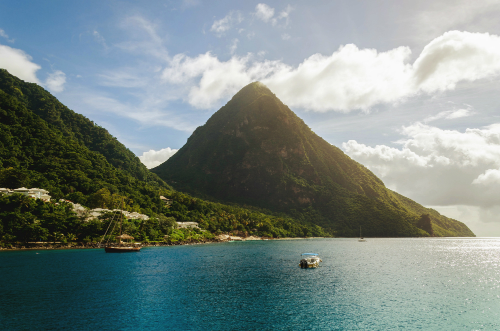 st lucia peaceful vacation