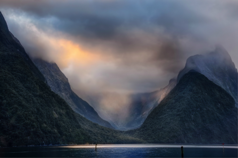 milford sound travel photography