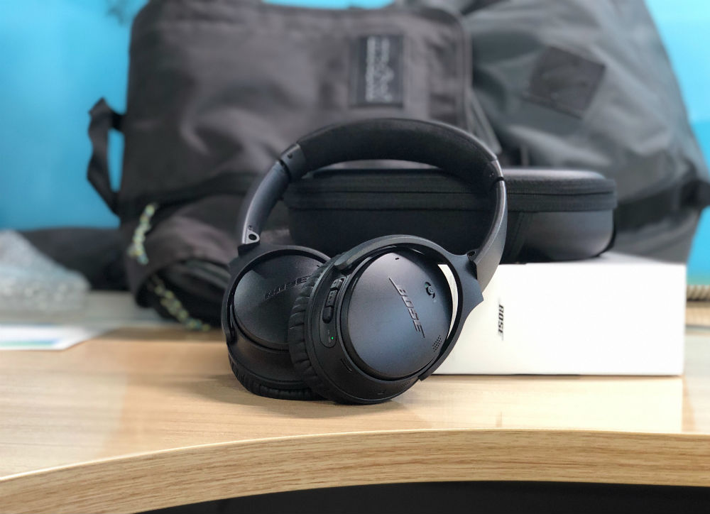 pack headphones for flying