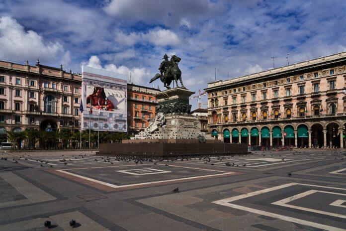 Milano empty COVID-19