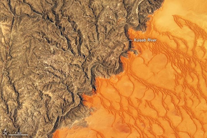 photo of desert nasa