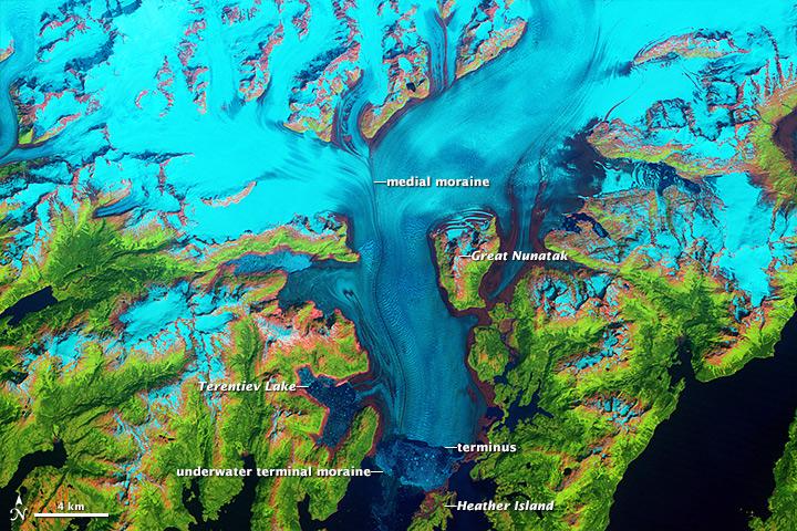 colombia glacier retreat
