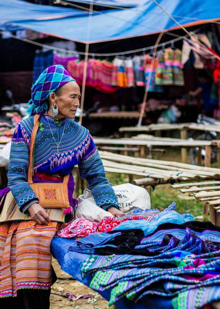 Female market vendor