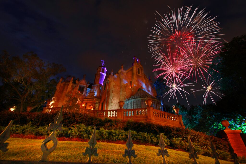 Haunted Mansion ride at Disney World