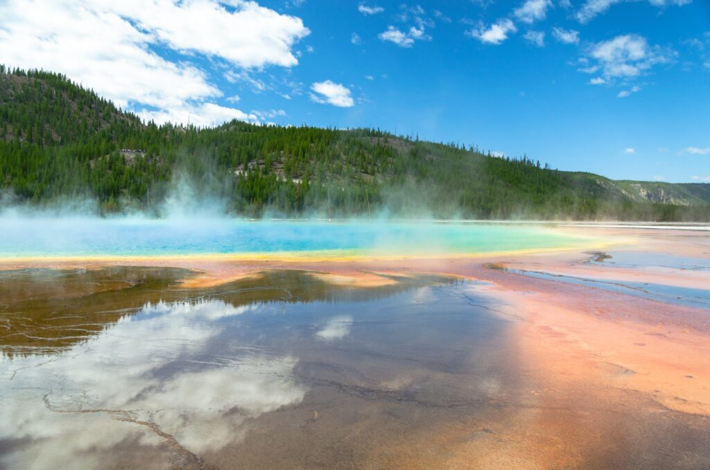 Grand Prismatic Hot Spring Yellowstone National Park