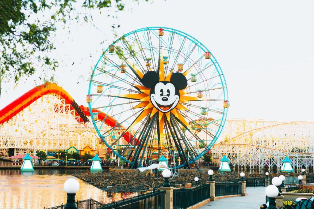 Disneyland ride