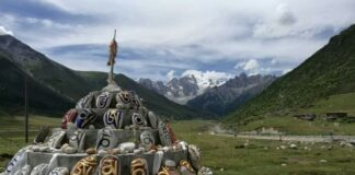 Eastern Tibet Beautiful Mountains