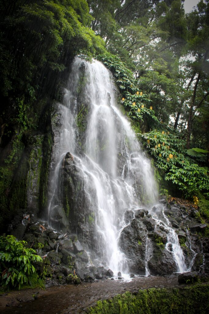 Waterfall in the Azores