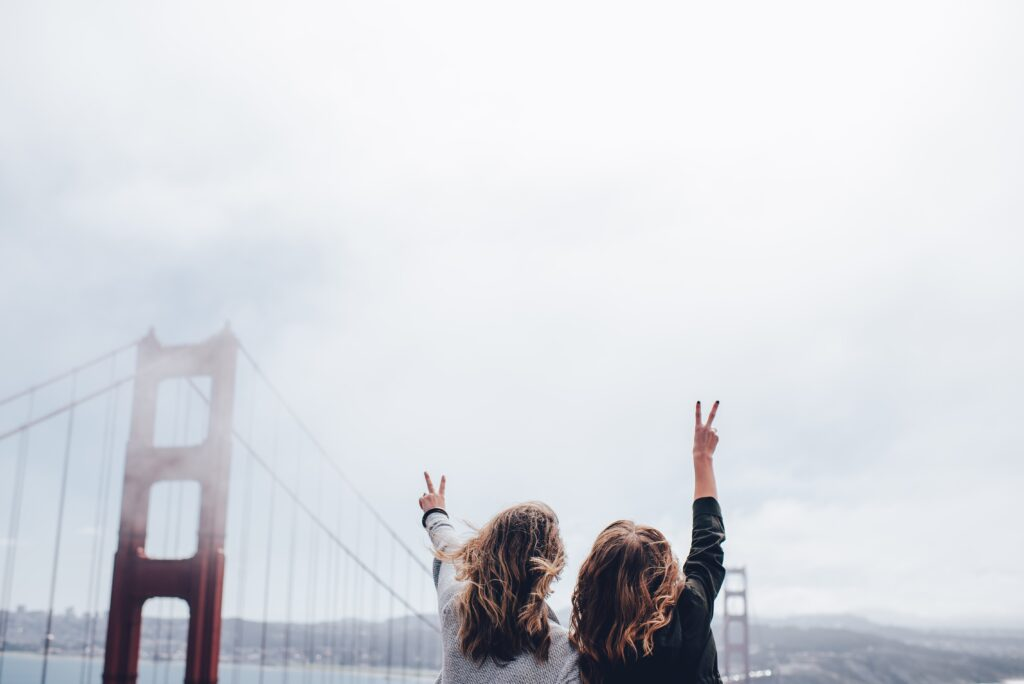 Friends who travel together