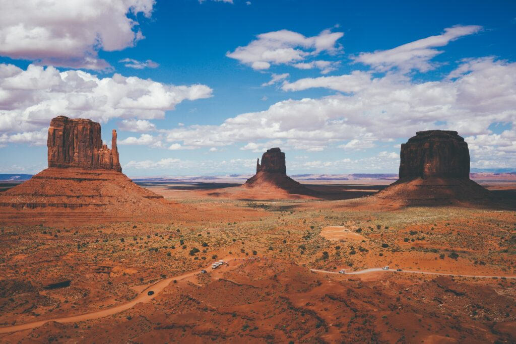 Drive to Monument Valley from Phoenix, AZ