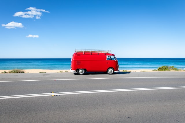 van travel australia