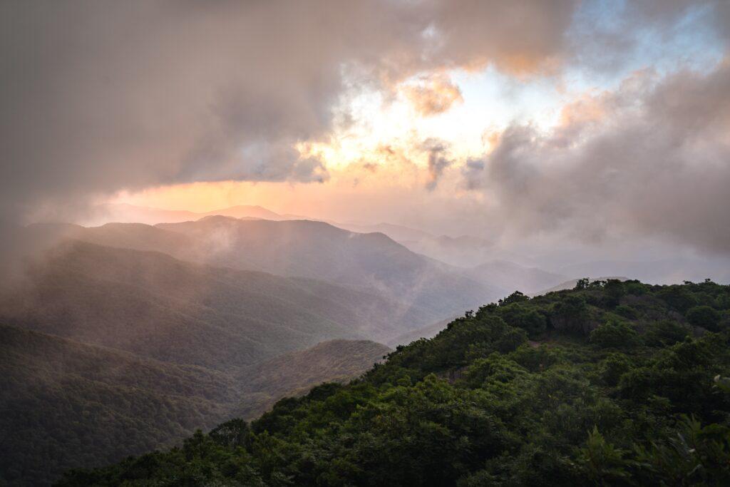 Blue Ridge Mountain Range in Georgia