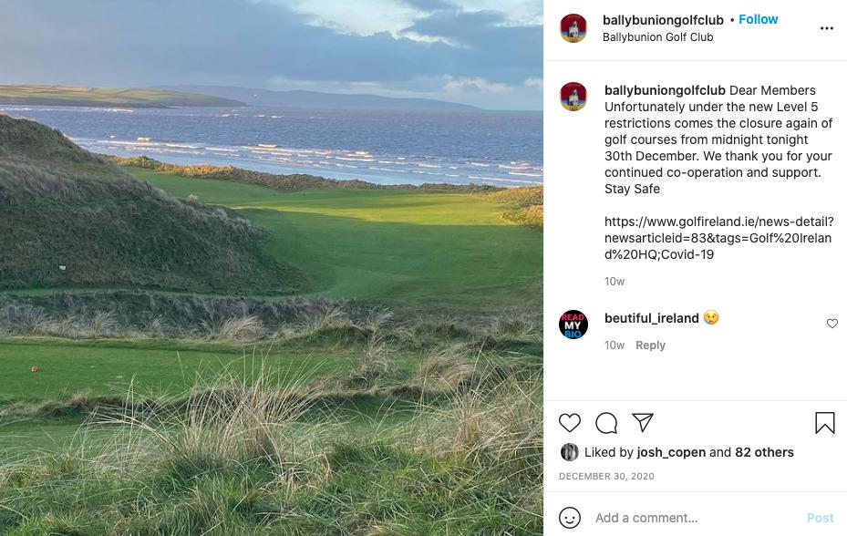 best golf course in ireland