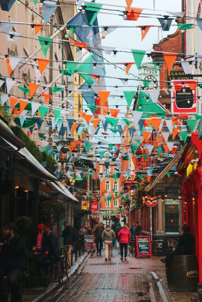 Celebrating in Dublin