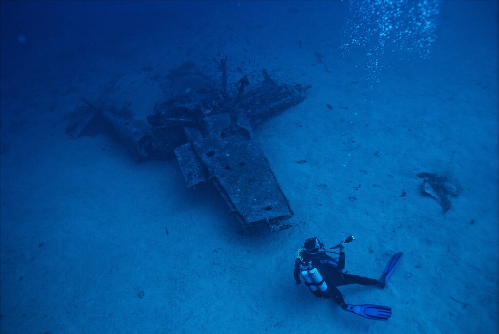 Shipwreck diving in Door County