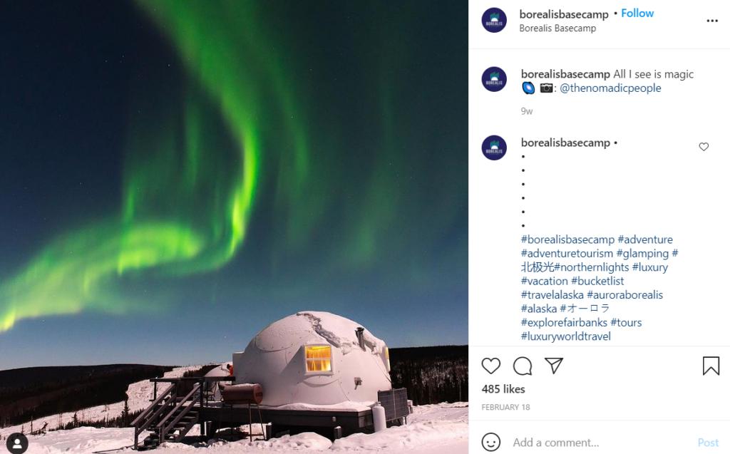Borealis Basecamp in Alaska