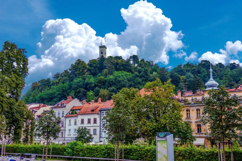 Green city of Ljubljana