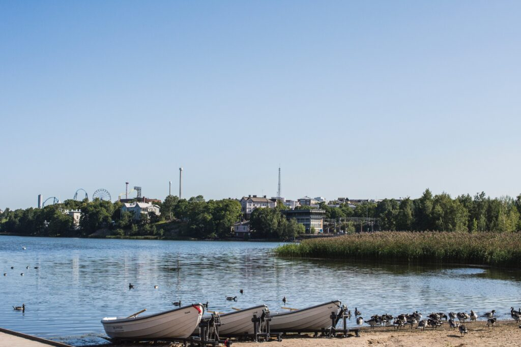 Helsinki is a sustainable city in Finland