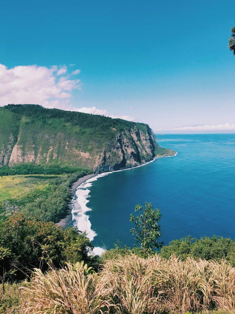 The Waipi'O Valley Trail on the big island