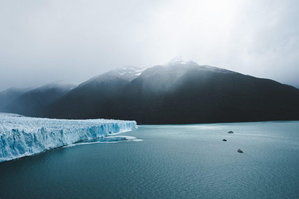 Glacier walking in Alaska