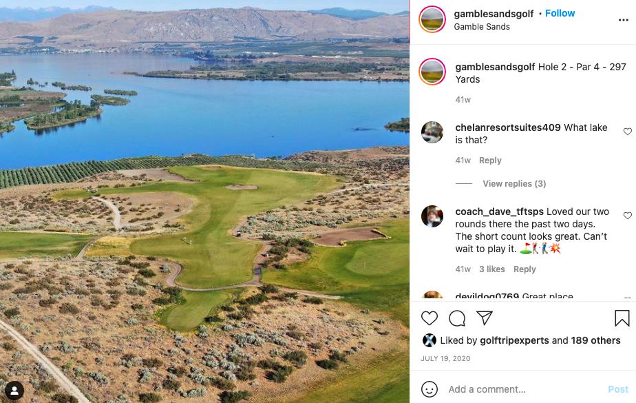 Gamble Sands Golf Club