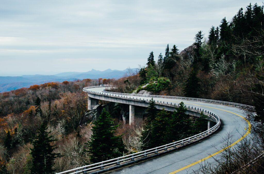 Take an RV down Blue Ridge Parkway