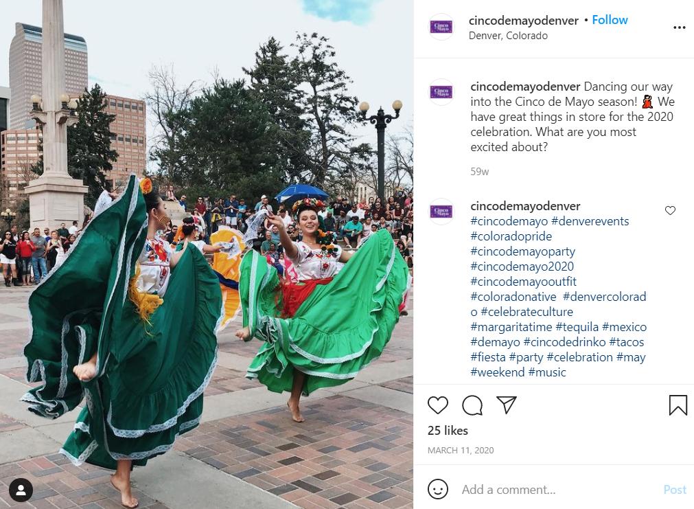 Cinco de Mayo celebrations in Denver, CO